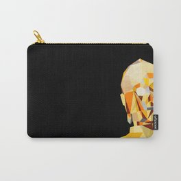 LowPolyC3PO Carry-All Pouch