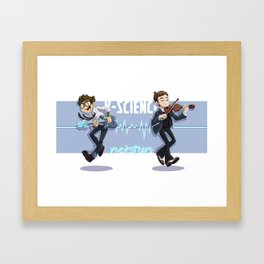 k-science rockstars Framed Art Print