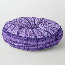 Ultra Violet Stone Tiles 18-3838 Floor Pillow