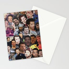 Misha Collins Collage Stationery Cards