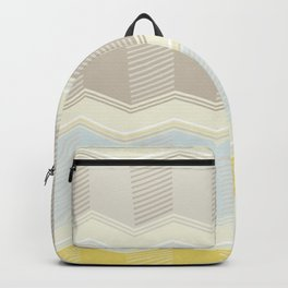 Abstract Zigzag Backpack