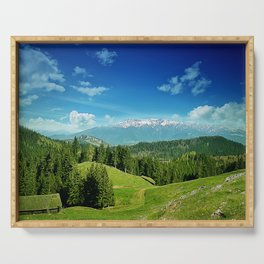 mountain valley Serving Tray