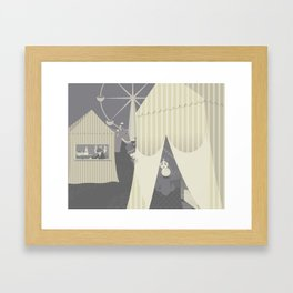The Circus Framed Art Print