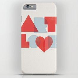 Art Love iPhone Case