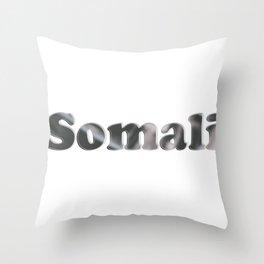 Somali Throw Pillow