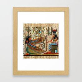 Egyptian - Isis Framed Art Print