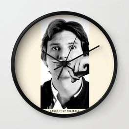 Who's Scruffy Lookin'? Wall Clock
