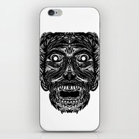 dracula iPhone & iPod Skins featuring Dracula by Jamie Bryan