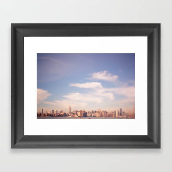 I am in Brooklyn... Framed Art Print