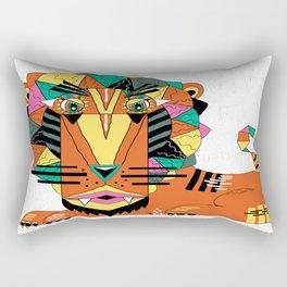 Bauhaus Lion Rectangular Pillow