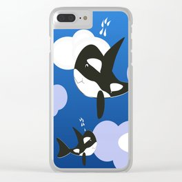Orca Design Clear iPhone Case