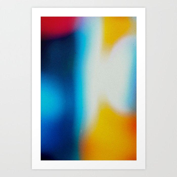 BLUR / nightlife Art Print
