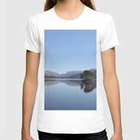scotland T-shirts featuring Scotland Beauty by Eugene Lee