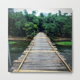 Bridge To The Unknown Metal Print