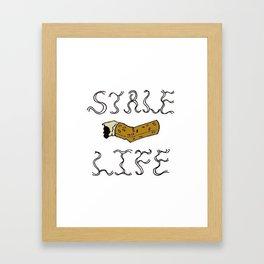 Stale Life Framed Art Print