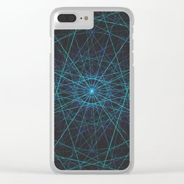 LT7-SINGULARITY Clear iPhone Case