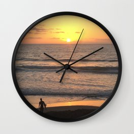 The Last Surf Wall Clock
