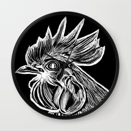 Cock's Head Wall Clock