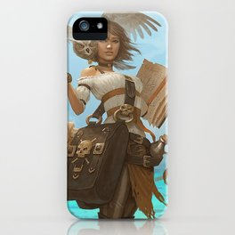 Pirate Chronicler iPhone Case