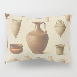 EGYPTIAN Antique VASES Pillow Sham