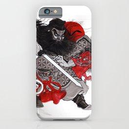 Shoki & Oni iPhone Case