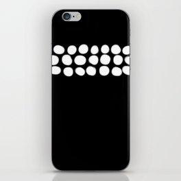 Little White pebbles iPhone Skin