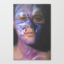 Colors of Women, T.F. Canvas Print