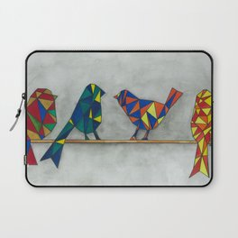 Geometric Birds Laptop Sleeve