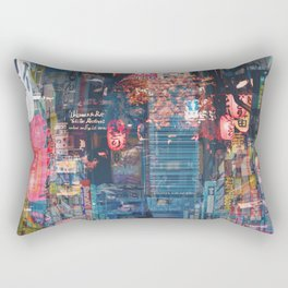Tokyo city of lights Rectangular Pillow