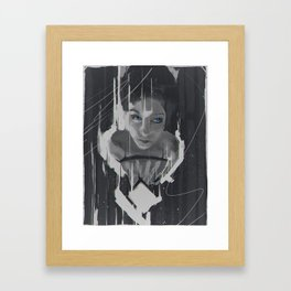 What are you drawing Ryan? // 162 Framed Art Print