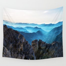 Mountains Breathe Too Wall Tapestry