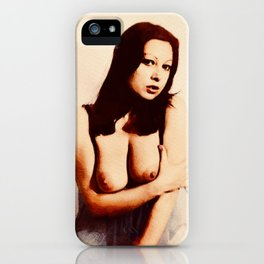 Vintage Pinup iPhone Case