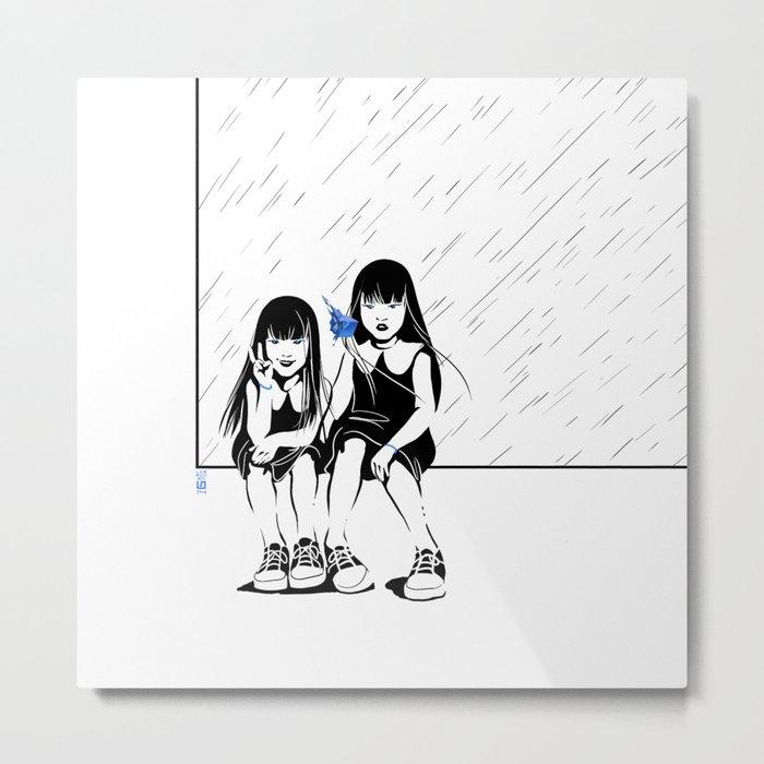 Anomalia Twins Metal Print