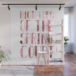 High Lord of the Spring Court Wall Mural