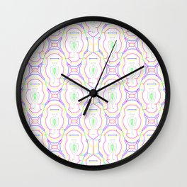 2307 Outlined pattern light ... Wall Clock