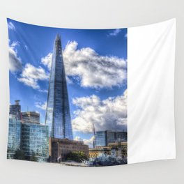 The Shard and H.M.S Belfast Wall Tapestry