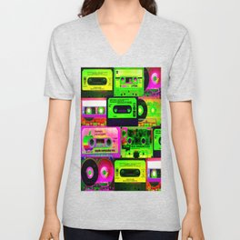 Cassetes Unisex V-Neck