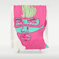 freedom Shower Curtains featuring Freedom by Vanessa Neves