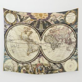 Popup World Wall Tapestry