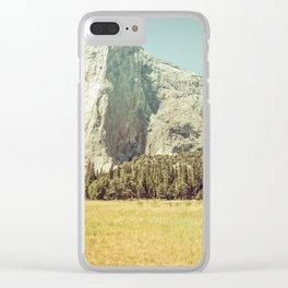 California Wilderness Clear iPhone Case