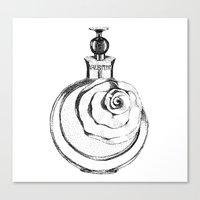 perfume Canvas Prints featuring Perfume by Elena Samarkina