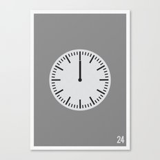 24 - Minimalist Canvas Print