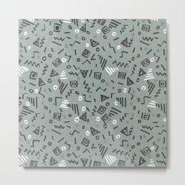 Screech Metal Print