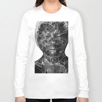 mandela Long Sleeve T-shirts featuring Mandela by PandaGunda