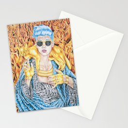 J.B. and the Golden Pussy Stationery Cards