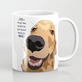 Golden Retriever Love Coffee Mug