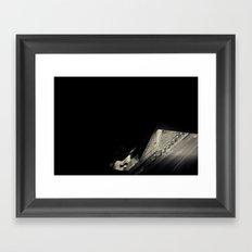 Navigated Light Framed Art Print