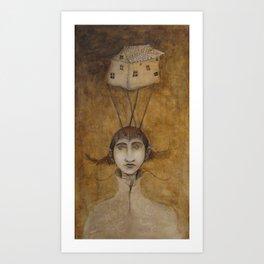 The Aviator Art Print