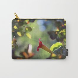 Floral Framed Carry-All Pouch
