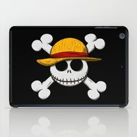 luffy iPad Cases featuring Jack Luffy by le.duc